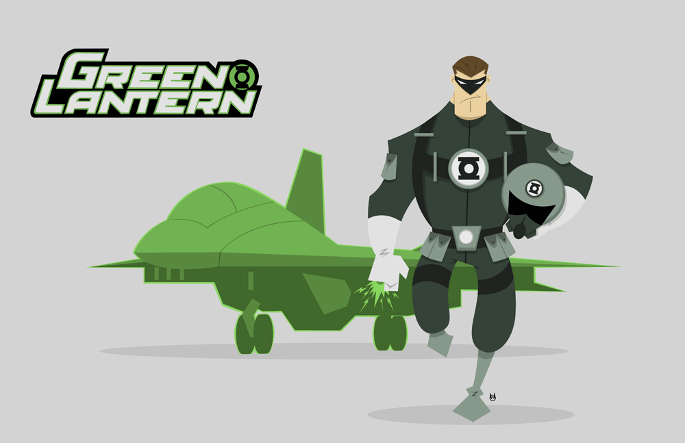 Green Lantern Project Rooftop Submission 01